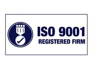 Logo ISO 9001 registered firm